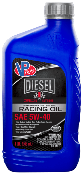 VP Cl1 5w40 synthetic oil - Hi-Performance for diesel race engines