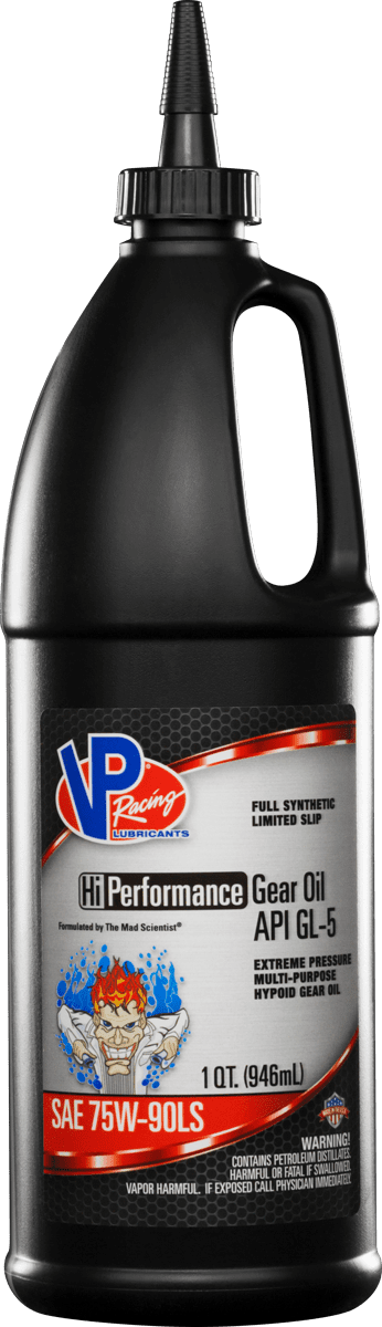 VP High Performance 75w90LS Full Synthetic gear oil