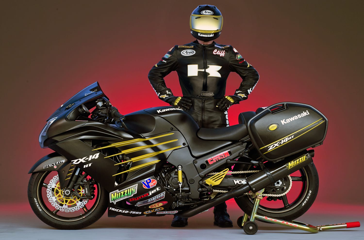 AT 140 MPH ON SNOW OR 200 MPH ON PAVEMENT, CLIFF RANDALL FUELS HIS PASSION WITH VP